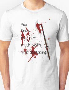 Badass Schoolgirl Unisex T-Shirt