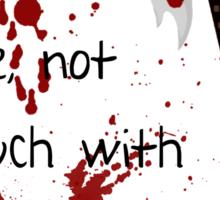 Badass Schoolgirl Sticker