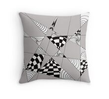Geometric Openings Throw Pillow