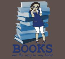 Books Are Love - Sticker Edition by kayeskew