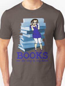 Books Are Love - Sticker Edition T-Shirt
