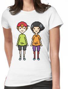 KevEdd Pixel Sprites Womens Fitted T-Shirt