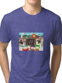 South Park Characters Tri-blend T-Shirt
