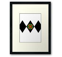 Martian ranger Framed Print