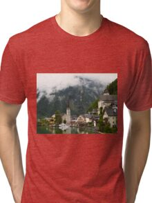 Village Hallstatt, Upper Austria Tri-blend T-Shirt
