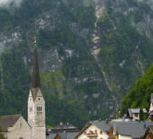 Village Hallstatt, Upper Austria Sticker