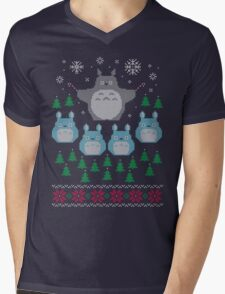 A Christmas Flight Mens V-Neck T-Shirt