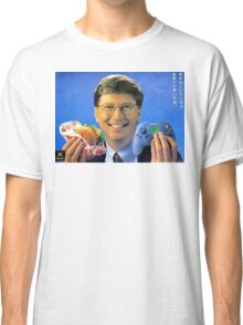 Bill Gates - Man Can Do Two Things At Once Classic T-Shirt