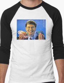 Bill Gates - Man Can Do Two Things At Once Men's Baseball ¾ T-Shirt