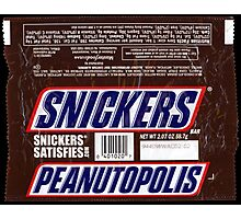 Snickers Photographic Print