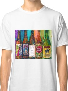 Zombie Dust, Dead Man Ale, Lunch, PlinytheEdler, Centillion Combo Fancy Beer Man Cave Classic T-Shirt