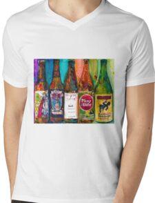 Zombie Dust, Dead Man Ale, Lunch, PlinytheEdler, Centillion Combo Fancy Beer Man Cave Mens V-Neck T-Shirt