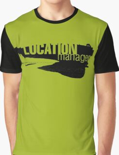 Film Crew. Location Manager II. Graphic T-Shirt