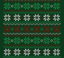 Poinsettia Christmas Sweater by machmigo