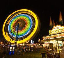 Spinning Wheel by Roger  Swieringa
