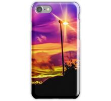 Sunset Swirls iPhone Case/Skin