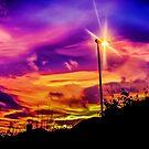 Sunset Swirls by Mounty
