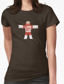 True Detective Lone Star Womens Fitted T-Shirt