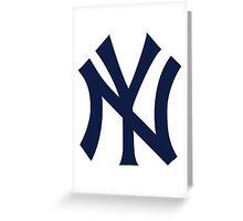 America's Game - New York Yankees Greeting Card