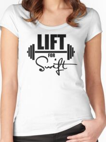 Lift for Swift Women's Fitted Scoop T-Shirt
