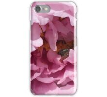 Peony with Bee iPhone Case/Skin