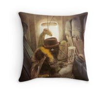 Flight of the Bumblebee  Throw Pillow
