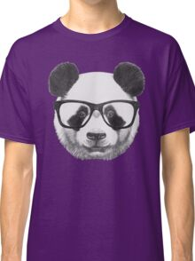 Panda with glasses Classic T-Shirt