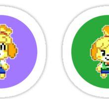 Animal Crossing Circles Sticker