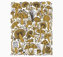 Mushrooms, Drawing Kids Tee