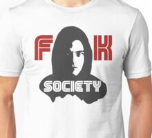 MR.ROBOT FUCK SOCIETY Unisex T-Shirt