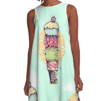 Death By Ice Cream! A-Line Dress
