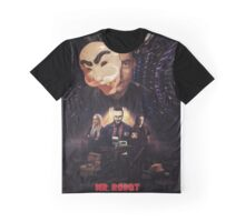Mr. Robot - Control is An Illusion Graphic T-Shirt