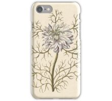 Mysterious Medieval Flower iPhone Case/Skin
