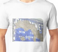French painted advertising sign Unisex T-Shirt