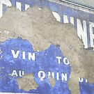 French painted advertising sign by Jonesyinc