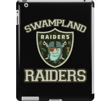 Swampland Raiders iPad Case/Skin