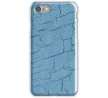 Blue wall. iPhone Case/Skin