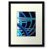 Blue in the Night Framed Print