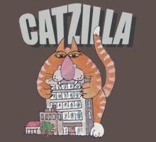 Catzilla Baby Tee