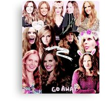 Rebecca Mader Collage Canvas Print