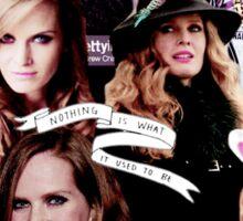Rebecca Mader Collage Sticker