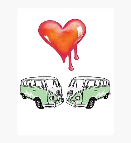 camper love Photographic Print