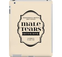 Male Tears Bitter Beer - Bottle Label Design iPad Case/Skin