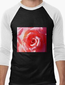 Rose Men's Baseball ¾ T-Shirt