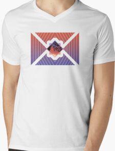 Sunset In The Trees Mens V-Neck T-Shirt