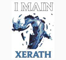 I main Xerath - League of Legends Kids Tee