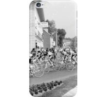 Tour de France 1980's black and white iPhone Case/Skin