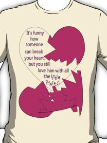 Broken heart for her T-Shirt