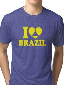 I Heart Brazil Tri-blend T-Shirt