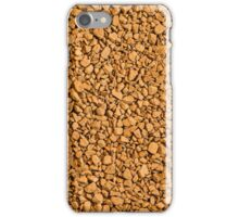 Coffee granules. iPhone Case/Skin